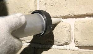 Обработка швов декоративной плитки