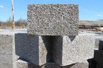 Арболитовые блоки применение в строительстве