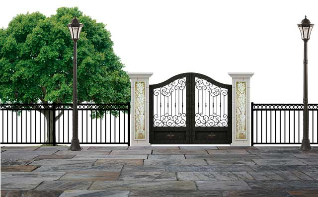 Из чего лучше сделать забор в частном доме