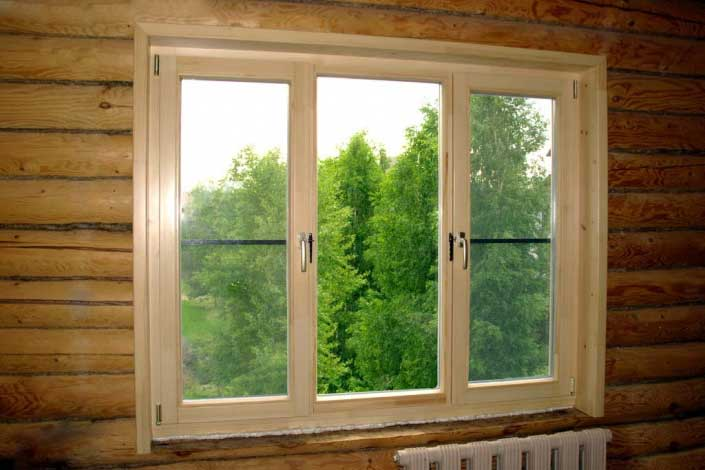 Вставляем окна двери