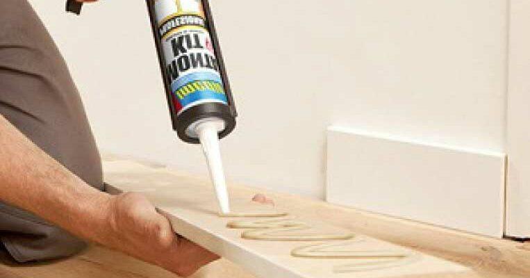 Как приклеить плитку к гипсокартону на жидкие гвозди
