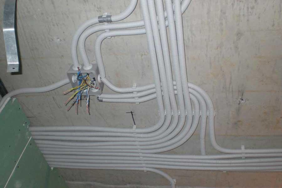 Замена проводки в туалете