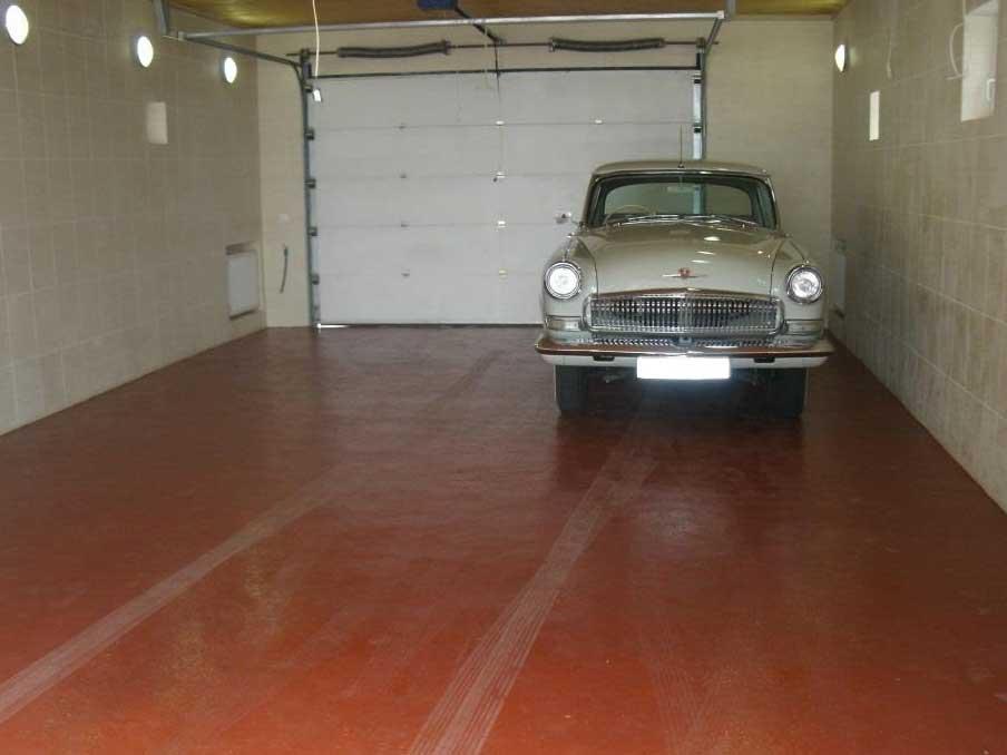 Ремонт старого бетонного пола в гараже своими руками