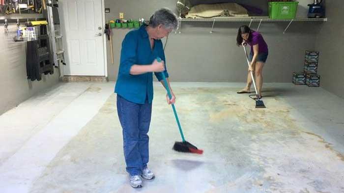 Подготовка поверхности бетона к покраске