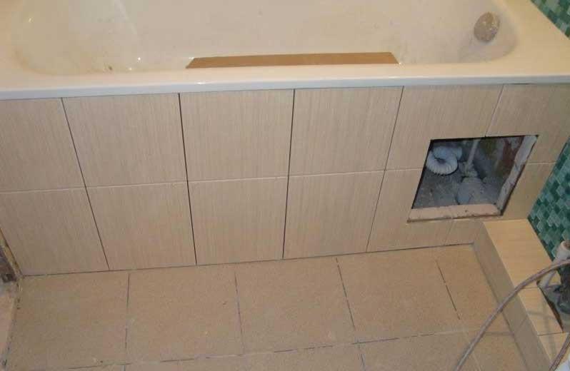Экран под ванну как правильно установить