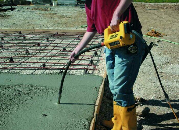 Как замешивать раствор бетона