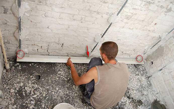 Простой способ выравнивания стен