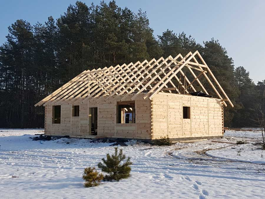 Устройство стропильной системы крыши из деревянных элементов
