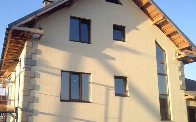 Утепление фасада дома снаружи под штукатурку