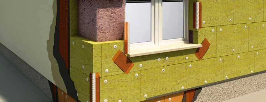 Утеплитель для фасада минвата