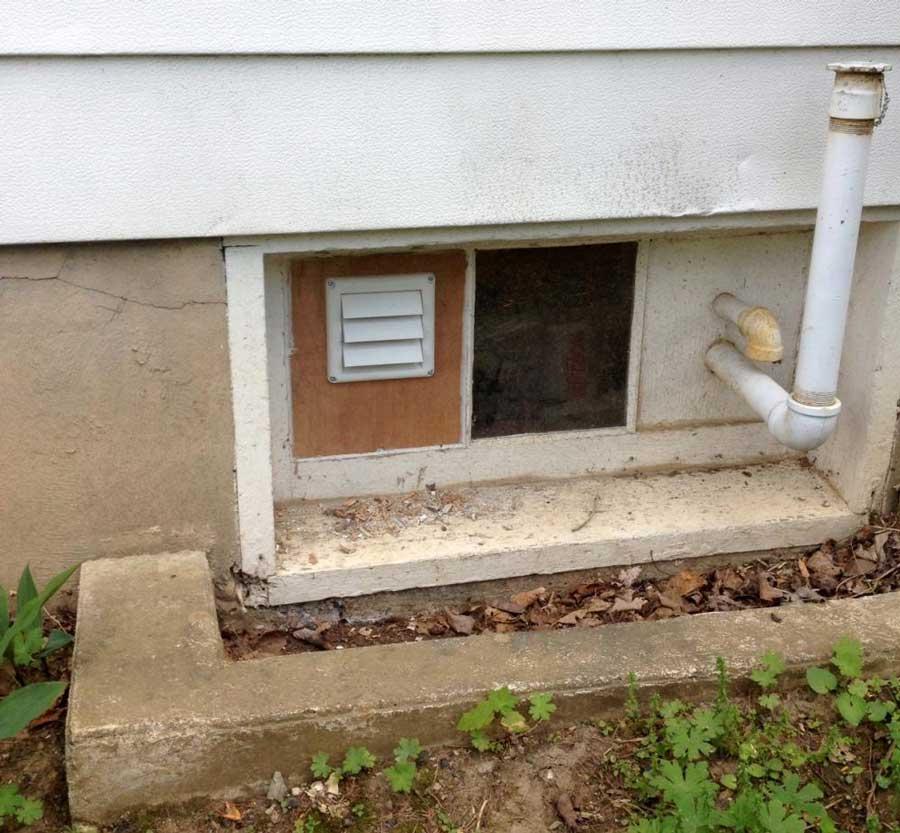Вентиляционные отверстия в фундаменте дома и их назначение