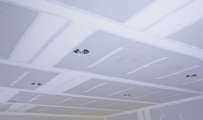 Как подшить гипсокартоном потолок