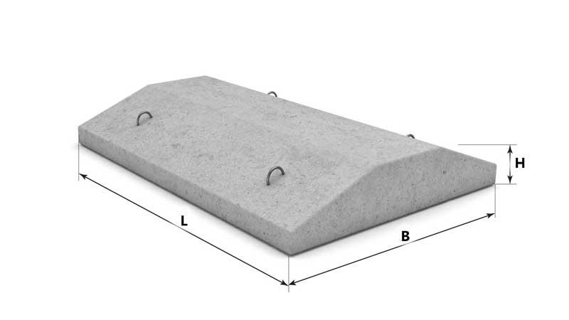 Блок подушка для фундамента