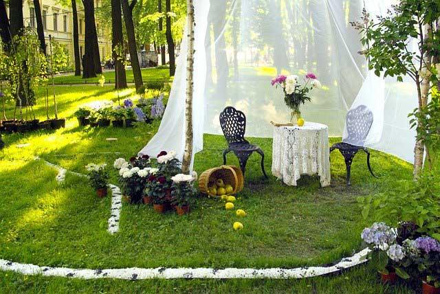Ландшафтный дизайн садового участка своими руками фото