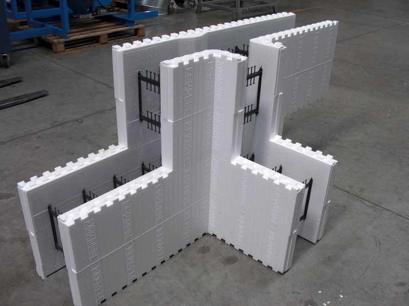 Блоки опалубки