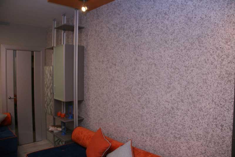 Отделка стен загородного дома внутри