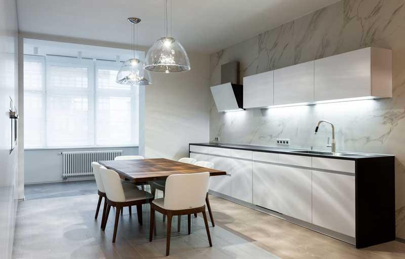 Как красиво оформить интерьер кухни