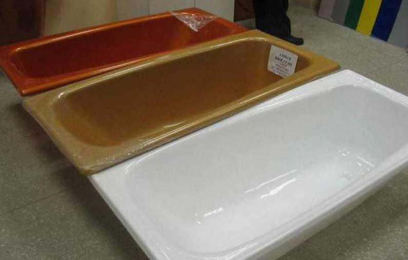 Как обновить эмаль ванны самостоятельно