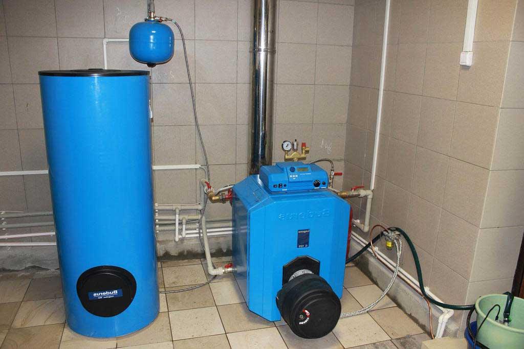 Вариант системы отопления