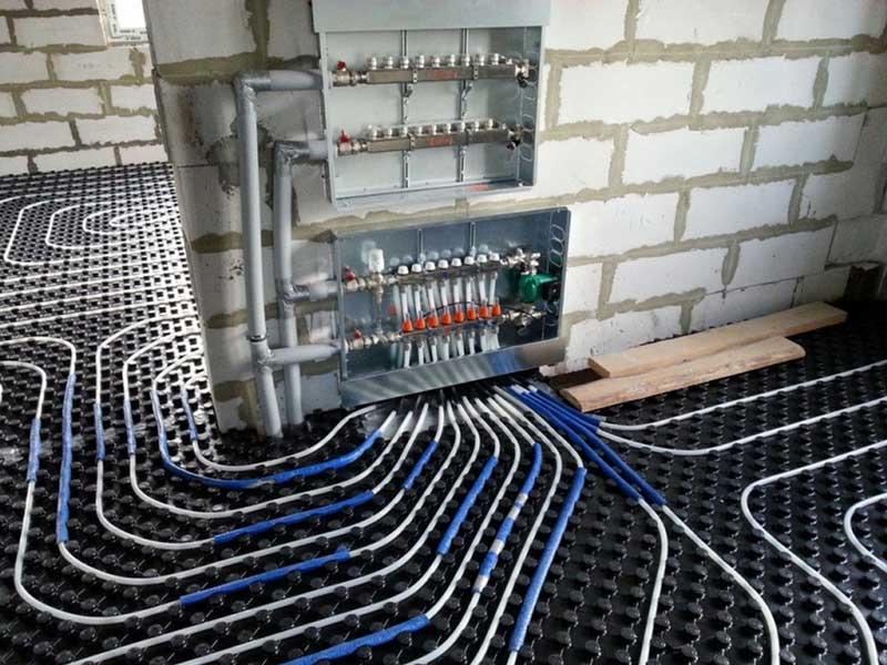 Варианты систем отопления в частном доме: 11 вариантов