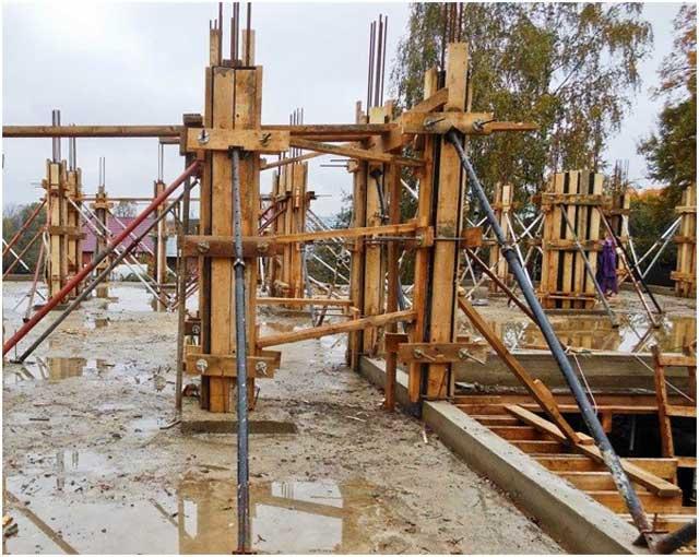 Бетонные и железобетонные изделия для строительства: столбы и балки