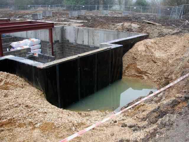 Как сделать гидроизоляцию подвалов