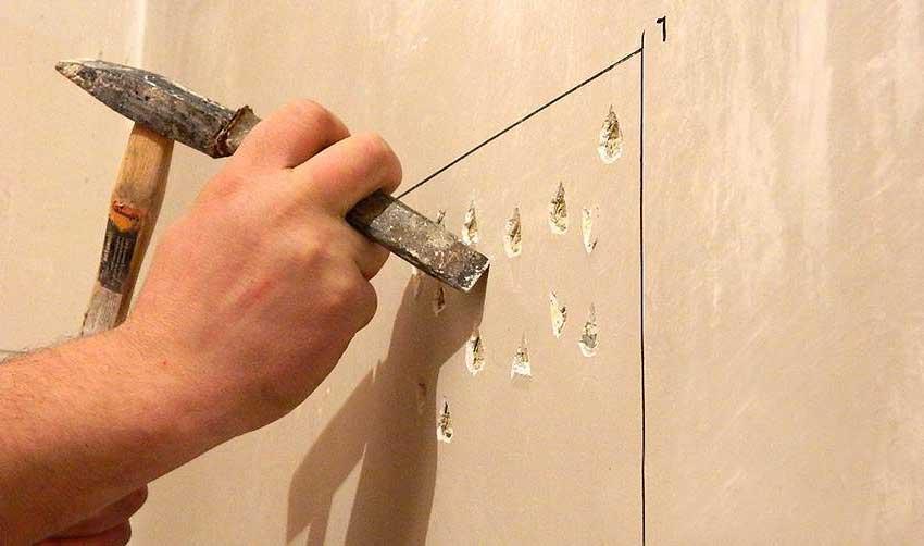 Подготовка стены к отделке