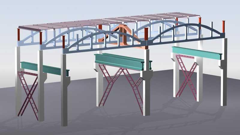 Применение стальных и железобетонных изделий