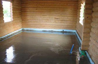 Гидроизоляция в деревянной бане