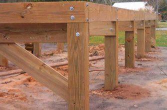 Как сделать фундамент для деревянного дома