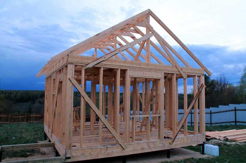 Баня простая как построить