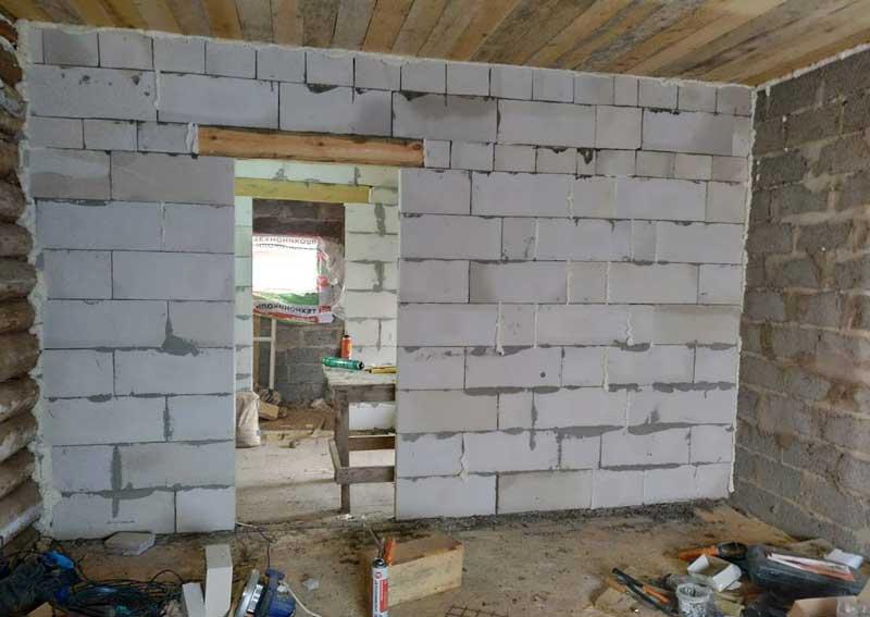 Как построить перегородку в доме