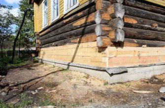 Как заменить фундамент в старом доме