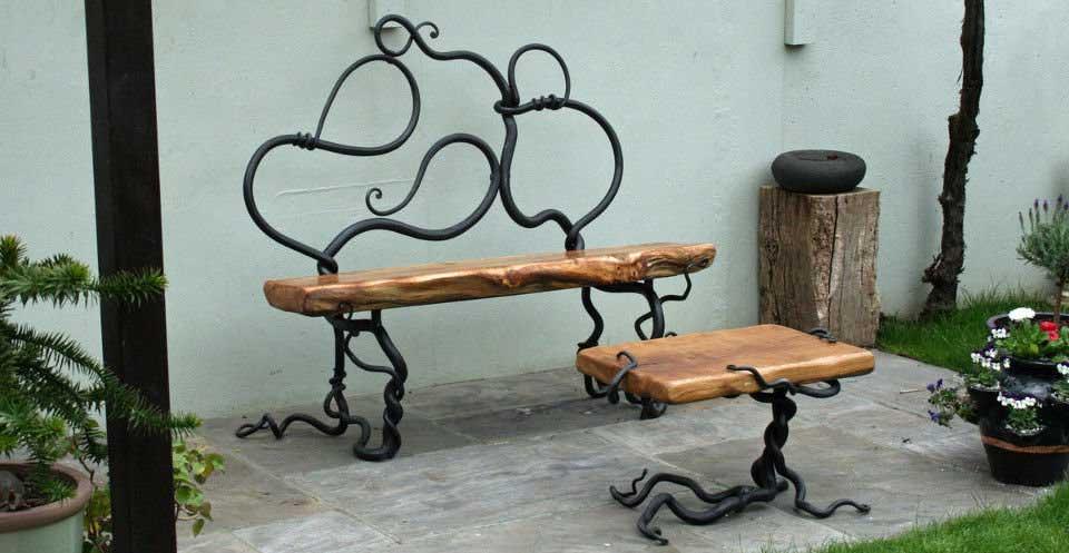 Как делают кованую мебель