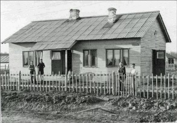 Каркасно-щитовые дома времён СССР