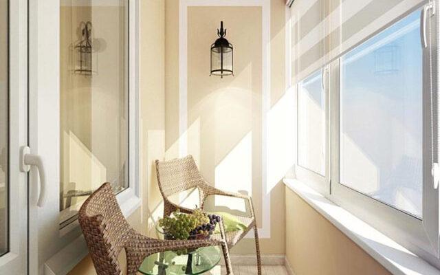 Как обустроить балкон красиво