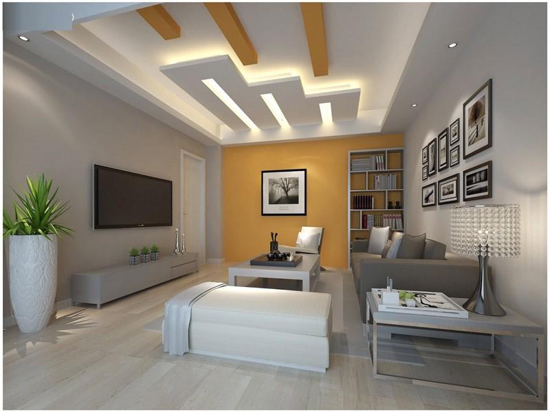 Встроенная система освещения увеличит потолок