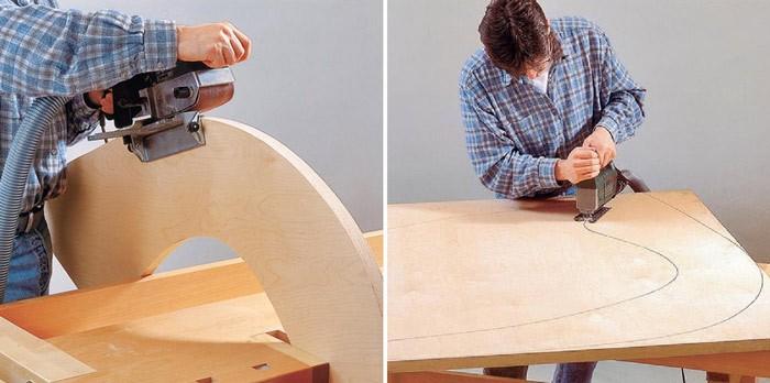 Фанерная мебель своими руками