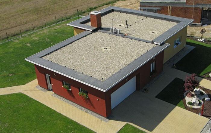 Преимущества плоской крыши