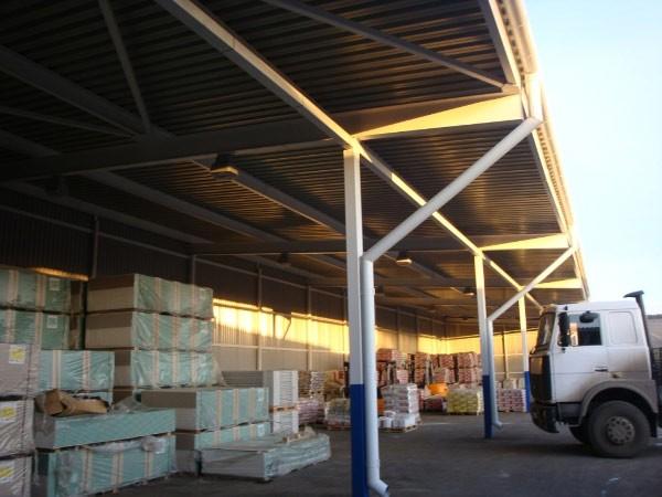 Хранение строительных материалов правила