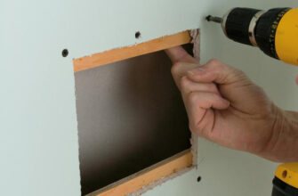 Как заделать дыру в стене внутри квартиры