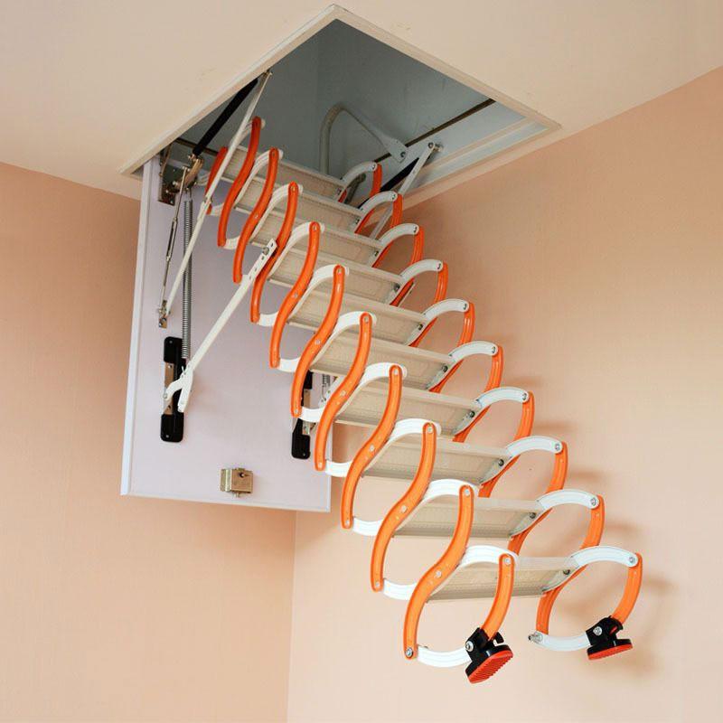 Лестницы в ограниченном пространстве дома