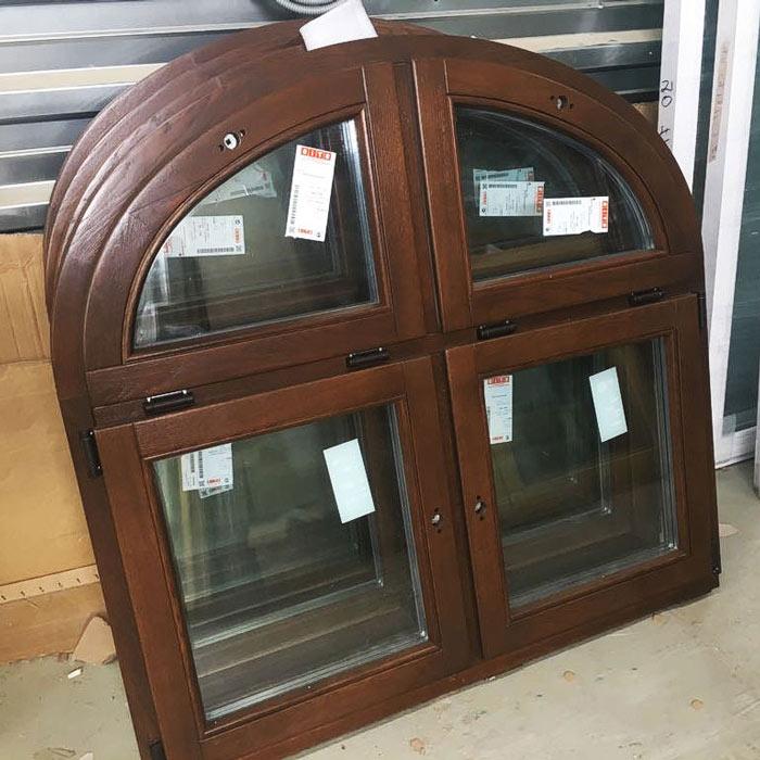 Дизайн деревянных окон