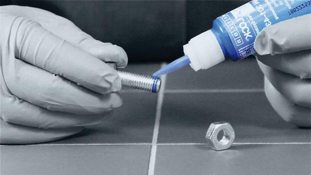 Анаэробный клей герметик для резьбовых соединений