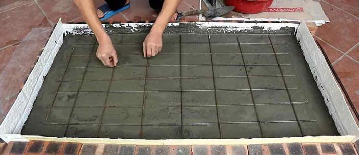 Как сделать памятник своими руками из бетона
