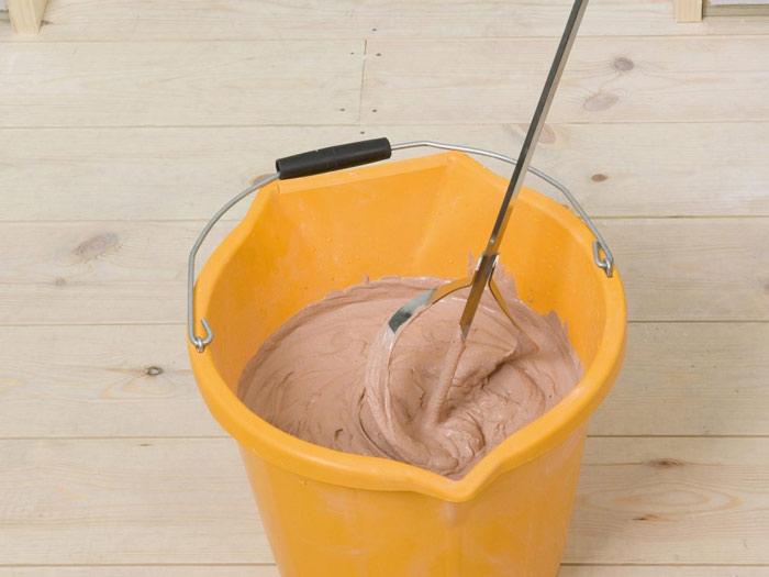 Как замешать короедную штукатурку