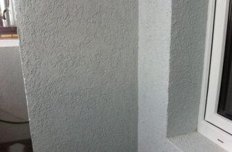 Штукатурка декоративная фасадная «короед»