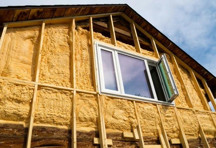 Чем можно утеплить каркасный дом снаружи