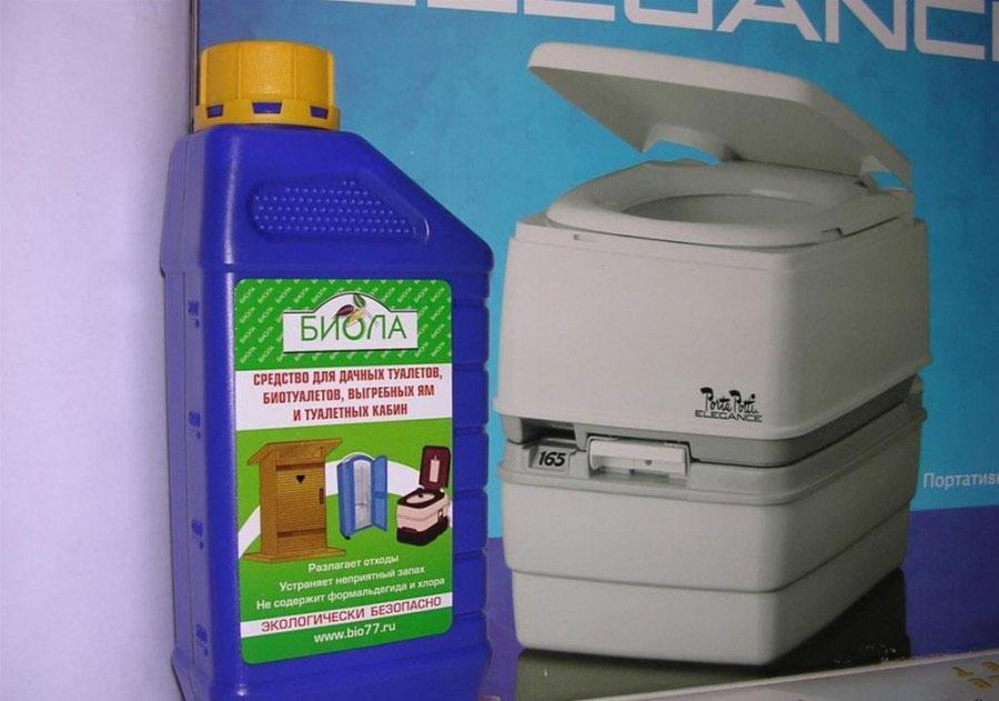 Санитарные жидкости для биотуалетов