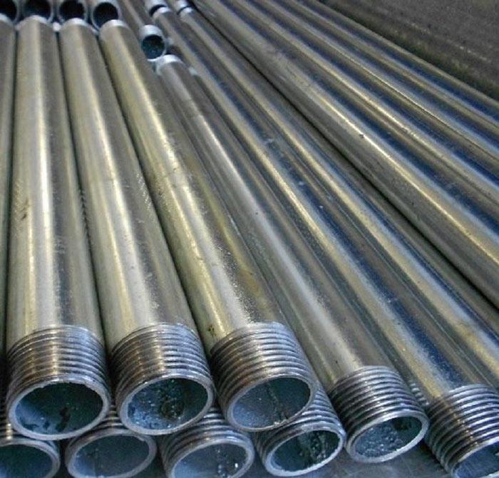 Водопроводная труба из металла